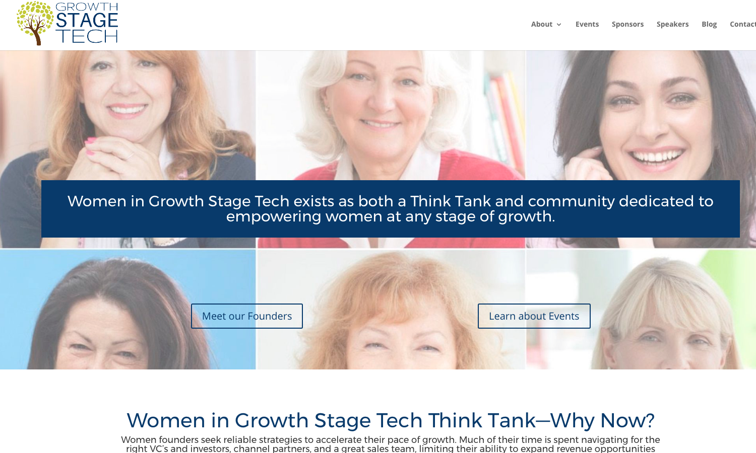 Growth Stage Tech Website