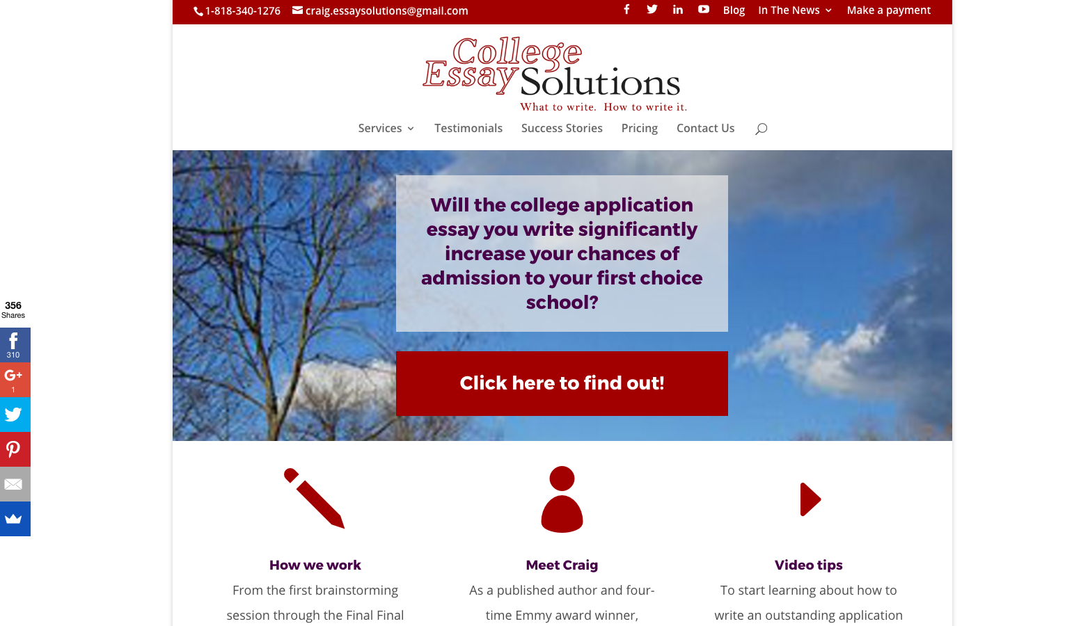 College Essay Solutions Website