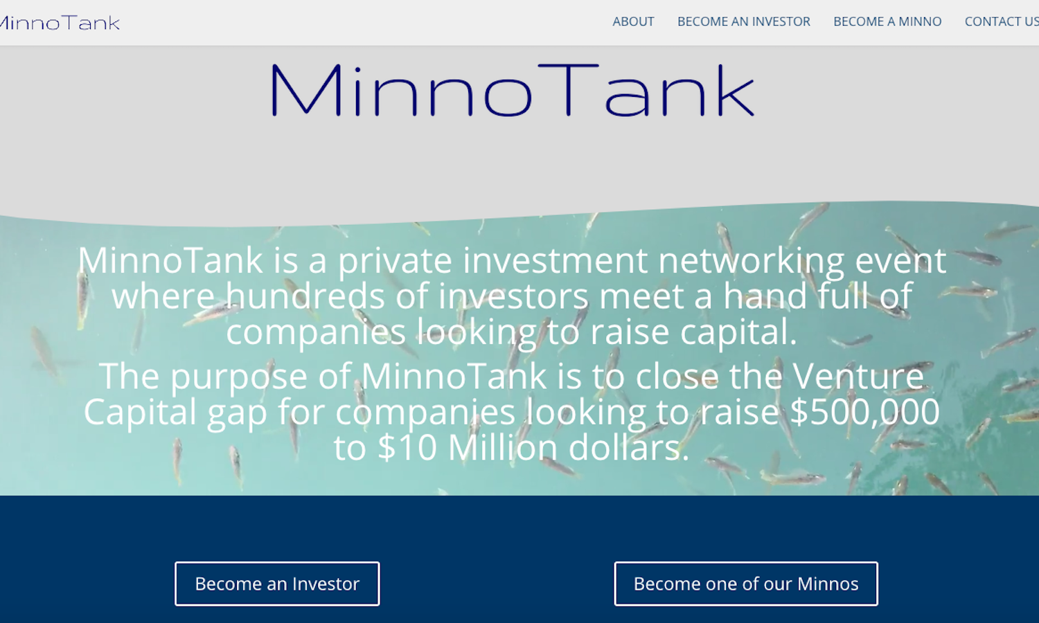 MinnoTank Website