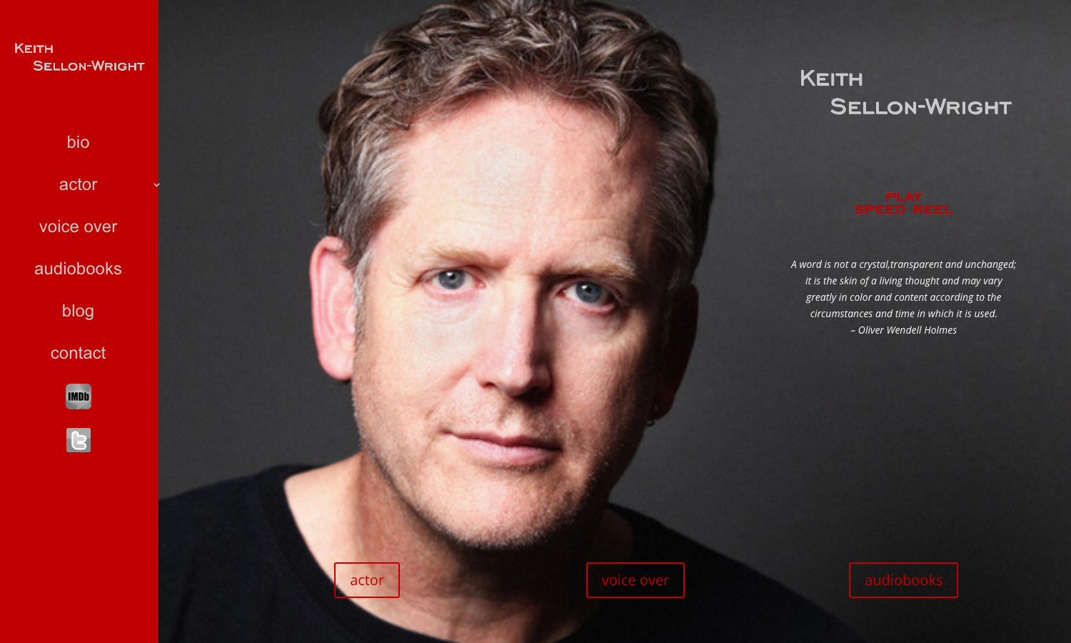 Keith Sellon-Wright Website