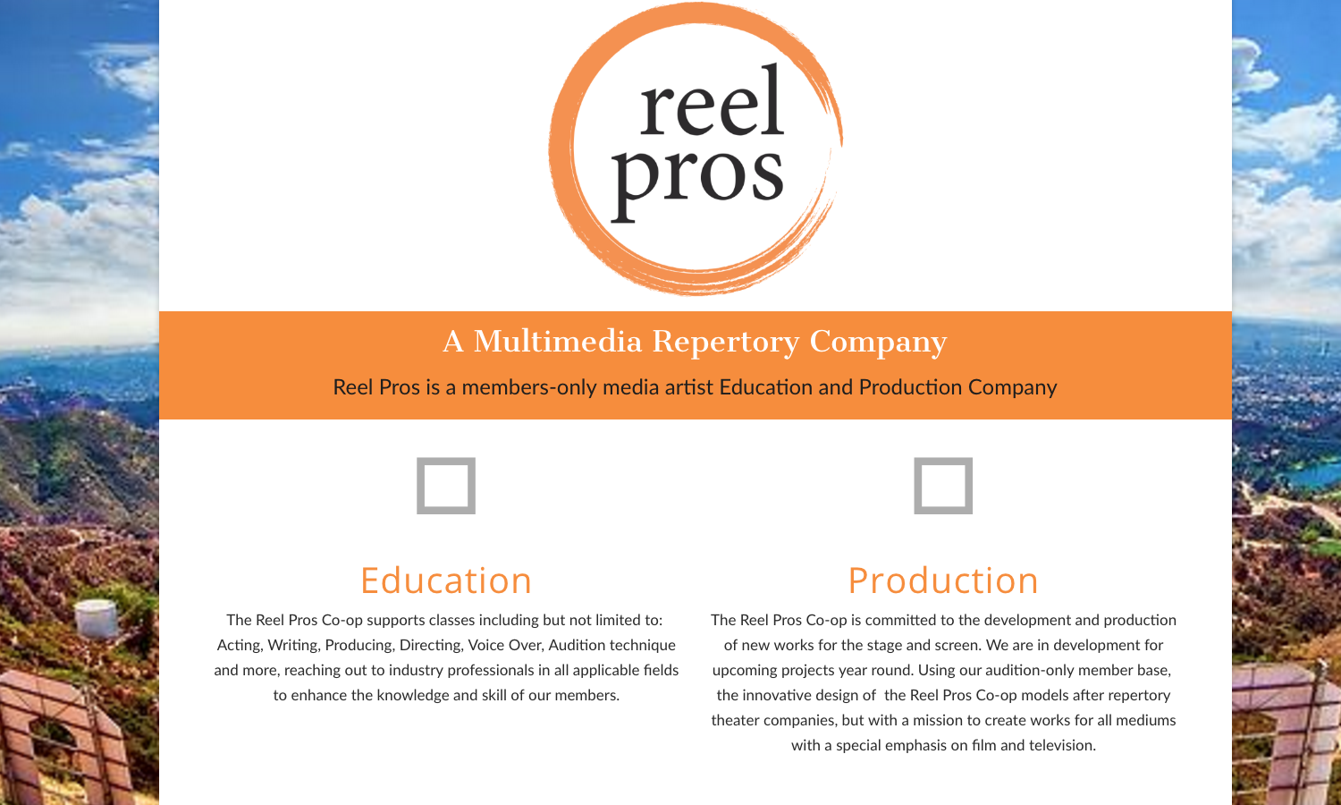Reel Pros Website