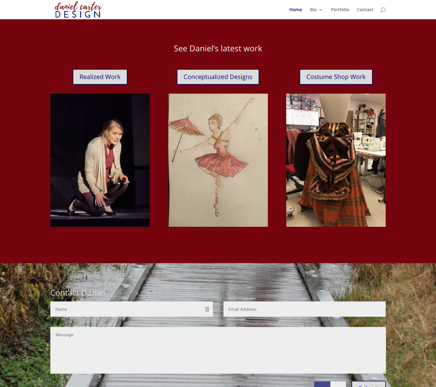 Daniel Carter Design Website